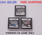 Pokemon Platinum Pearl Diamond Version Game Card for Nintendo DS 3DS NDSI Lot