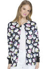 Tooniforms Scrubs Snap Front Jacket TF300 HKGS Hello Kitty Glasses Free Shipping