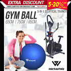 NEW WORKOUT WIZ 5in1 Elliptical Cross Trainer Exercise Bike Home Gym Fitness