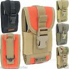 Universal Army Tactical Bag Mobile Phone Belt Clip Loop Hook Cover Case Holster