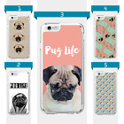 Pug Dog Pet Animal Pattern Case For Iphone 4 4s 5 5c 5s 6 6s 7 Plus Ipod Touch