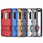 For LG V10 Case Hard Kickstand Hybrid Dual Layer Protective Phone Bumper Cover
