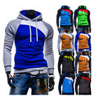 LATEST Men Winter Hoodie Hooded Sweatshirt Coat Jacket Outwear SportSweater Tops