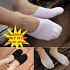 LOT 240Pairs Cotton Invisible No Show Nonslip Loafer Boat Liner Low Cut Socks BA
