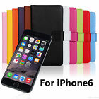 Soft High Quality PU Leather Wallet Case Cover Pouch For New Apple iPhone 6