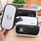 Cute Cosmetic Make up Brush Bag Case Pen Pencil Pouch Stationery Zip Hot Purse