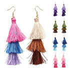 Charming Bohemian Earrings Women Vintage Long Tassel Fringe Boho Dangle Earrings