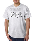 Bayside Made USA T-shirt My Parents Said Could Be Anything Became A Drunk