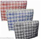 2 X EXLARGE JUMBO LAUNDRY STORAGE BAG STRONG REUSABLE CLOTHES SHOPPING CHECK BAG
