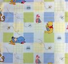 Disney Fabric Winnie the Pooh, Eeyore, Tigger, Piglet Characters Patchwork - FQ