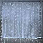 curtain light - Warm White 300 LED 3m Fairy Curtain String Lights Wedding Party Perfect Holiday