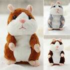 Cute Talking Nod Hamster Mouse Record Chat Mimicry Pet Plush Toy Xmas Kids Gift