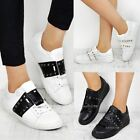 Womens Ladies Trainers Studded Fashion Designer Rock Sneakers Garavani Low Comfy