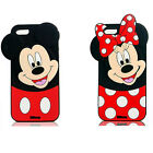 3D Cartoon Disney Soft Silicone Rubber Cover Case For Samsung iPhone LG Huawei