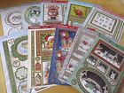 Hunkydory A Cuddly Christmas Card Sets - 1 Topper Sheet & 2 Backings Cards