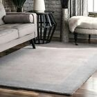 nuLOOM Hand Tufted Paine Grey Area Rug