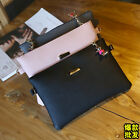 New Hot Women Envelope Clutch Shoulder Bag Party Handbag Bag With Leather