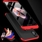 360° Full Cover Hybrid Shockproof Slim Hard PC Back Case For Xiaomi Redmi Phones