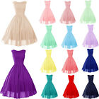 STOCK New Mini/short Bridesmaid Cocktail Prom Party Ball Evening dress Size6-18