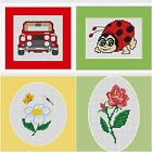 Luca-S Cross Stitch Kits - 4 Kits to Pck from ,Suitable for Beginners