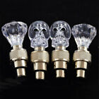 2Pcs Bicycle LED Diamond/Skull Design Night Lamp Battery Cool Valve Light