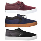 Supra Mens Cuba Lace Up Active Sport Gym Black Navy Burgundy Lo Top Trainers
