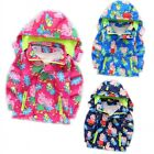 Kids Baby Girls Tops Clothes Peppa Pig Coat Hoodie Jacket Windbreaker Outerwear