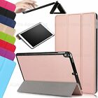 For Apple iPad Pro 10.5 Slim PU Leather Tri-Fold Cover Smart Magnetic Stand Case