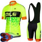 Cycling Clothing Cycling Jersey & Bib Shorts 2017 2 COLORS Breathable S-5XL