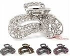 USA Medium Elegant Rhinestones Crystal metal hair Clip Hair Claw Hair clamp