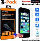 urban armor gear iphone 5 case - 3х Premium Real Tempered Glass Screen Protector Film Made For Case iPhone 5C