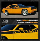Dodge Challenger Strobe Cuda Racing Side Stripes Decals 2015 2016 2017 2018