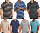 Men's Pattern Short Sleeve Polo Shirt With Pocket