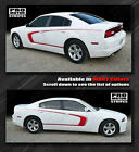 2013 dodge charger red - Dodge Charger Side Scallop Accent C-Stripes Decals 2011 2012 2013 2014 Pro Motor
