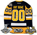 PITTSBURGH PENGUINS ANY NAME  NUMBER 2017 STANLEY CUP CHAMPIONS JERSEY REEBOK