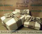 Warm & Natural Cotton Batting Fabric Precut Quilt Squares *Select Size/Quantity*