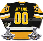 PITTSBURGH PENGUINS ANY NAME  NUMBER 2016 STANLEY CUP CHAMPIONS JERSEY REEBOK