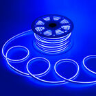 WYZworks Blue Flexible Waterproof Soft Double Sided LED Neon Rope Light Strip