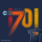 STAR TREK USS Enterpirse NCC-1701 James Kirk Spock McCoy Scotty Men T-Shirt M-2X on eBay