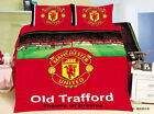 Manchester United Quilt Duvet Doona Cover Set King Single Size Bed Pillowcases