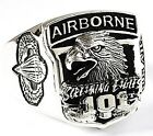 U.S. ARMY AIRBORNE STERLING 925 SILVER MILITARY RING