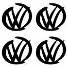 Volkswagen VW Surf Logo Vinyl Decal X4  - Various Sizes & Colours with FREE P&P