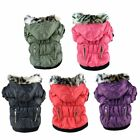 Pet Supplies - US Small Dog Pet Warm Cotton Jacket Coat Hoodie Puppy Winter Clothes Pet Costume