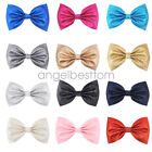 4.5 inch Girs Hair Bow Guitar Synthetic Leather Alligator Clips Hair Accessories