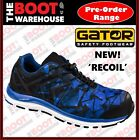 Gator GI6085 Recoil Blue Safety Work Boot/Jogger. Composite Toe Cap ANTI-FATIGUE