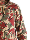 883 Police Mayfair Casual Camo Print Overhead Front Kangroo Pocket Sweat Shirt
