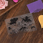 Transparent Silicone Rubber Clear Stamps Scrapbooking Embossing Handcraft DIY