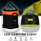 Outdoor Rechargeable Camping LED Lantern Portable Hiking Tent Light USB Lamp US
