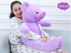 16''-63'' giant hung Big Teddy Bear Beanbag plush Baby Soft Toys Valentine gift