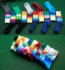 Men Trendy Style Gradient Color Socks Wedding Sock Long Cotton Socks 10 Types
